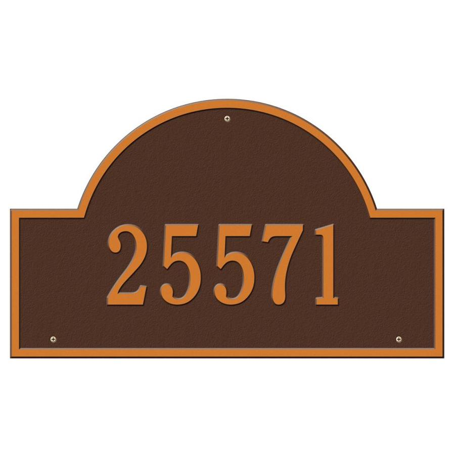 Whitehall Estate Arch Marker Antique Copper
