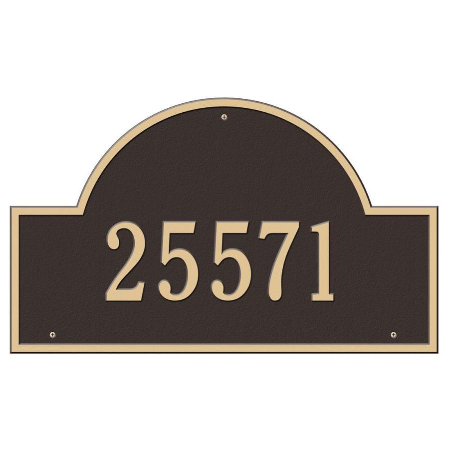 Whitehall Estate Arch Marker Bronze/Gold