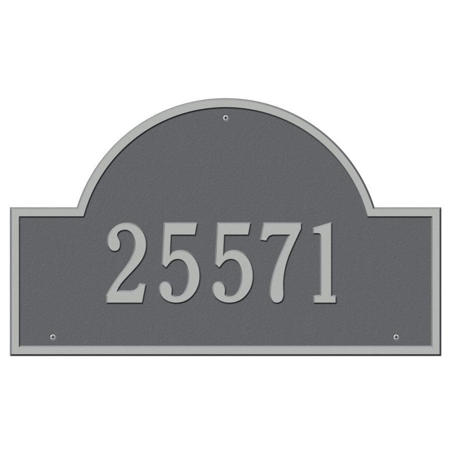 Whitehall Estate Arch Marker Pewter Silver