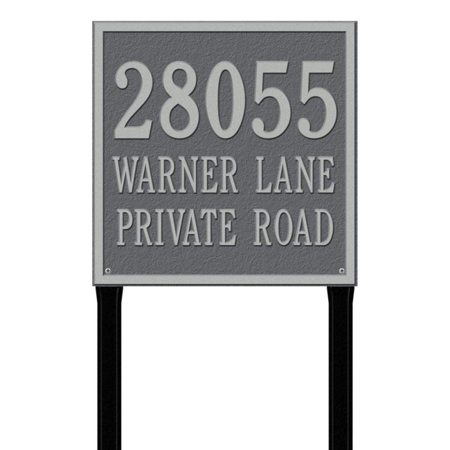 Whitehall 15-in x 15-in Plaque