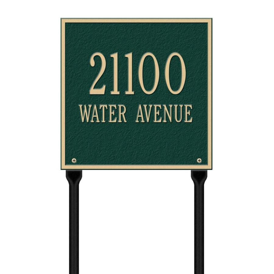 Whitehall 11-in x 11-in Plaque
