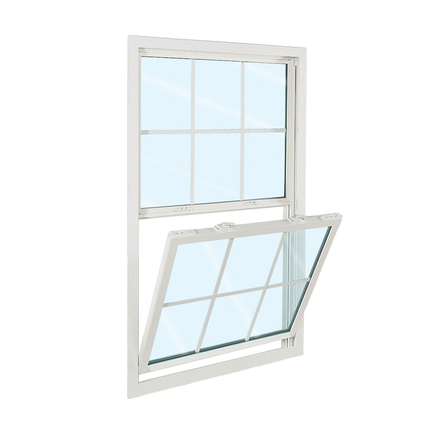 ReliaBilt 3100 Series Vinyl Double Pane Single Strength Replacement Egress Single Hung Window (Rough Opening: 36-in x 62-in; Actual: 35.75-in x 61.75-in)