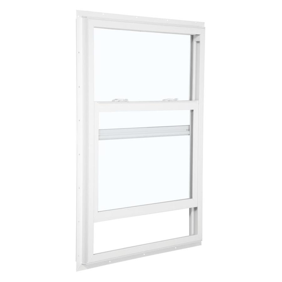 ReliaBilt 105 Series Vinyl Double Pane Single Strength Egress Single Hung Window (Rough Opening: 36-in x 60-in; Actual: 35.5-in x 59.5-in)
