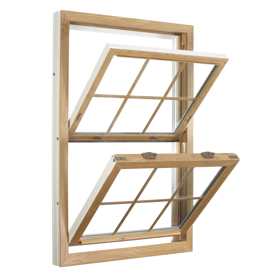 ReliaBilt 3900 Series Vinyl Triple Pane Single Strength Replacement Double Hung Window (Rough Opening: 36-in x 37.75-in; Actual: 35.75-in x 37.5-in)
