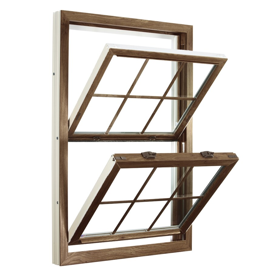 ReliaBilt 3900 Series Vinyl Double Pane Single Strength Replacement Double Hung Window (Rough Opening: 32-in x 45.5-in; Actual: 31.75-in x 45.25-in)