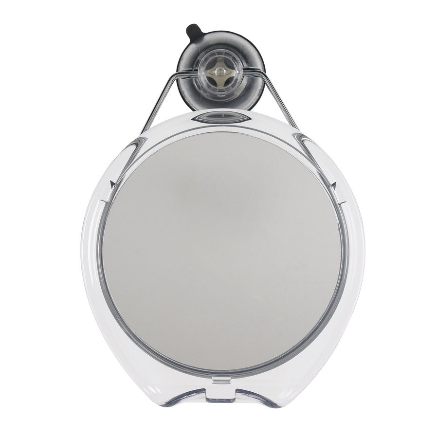 OXO Clear Round Framed Wall Mirror