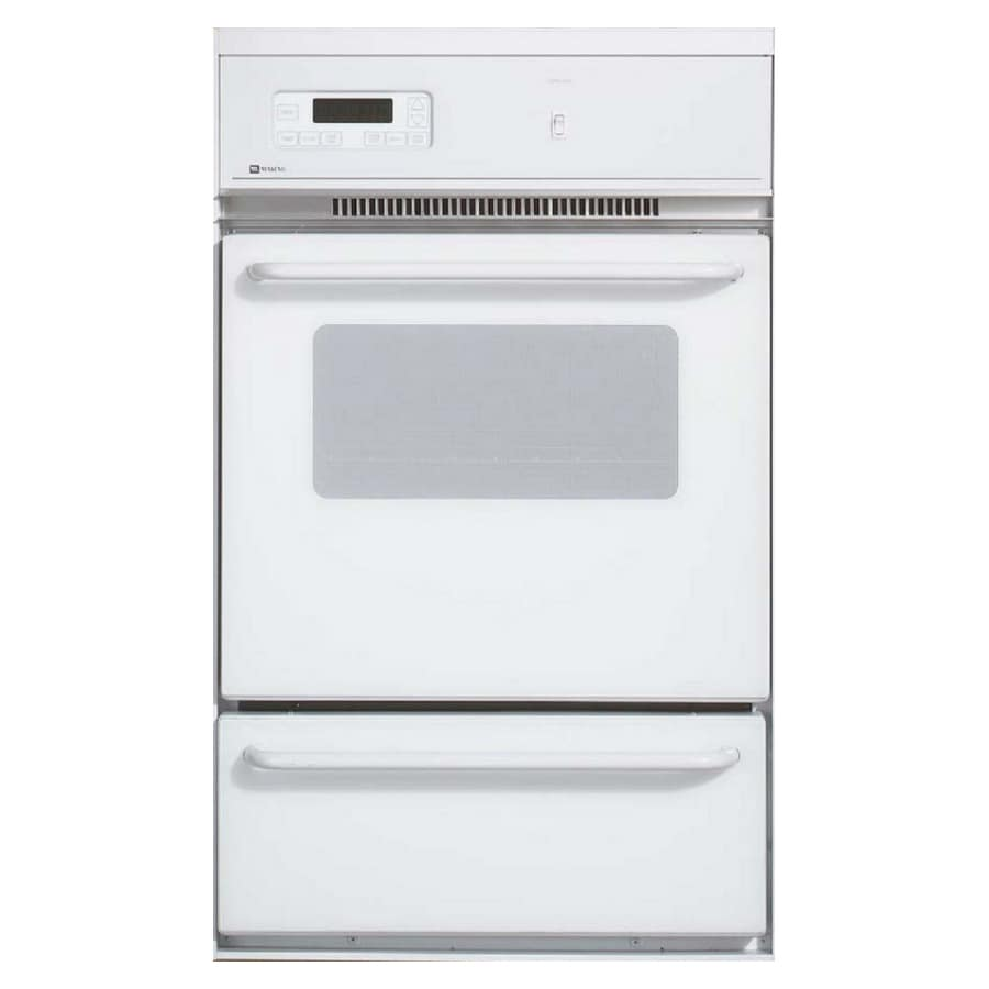 Maytag Single Gas Wall Oven (White)