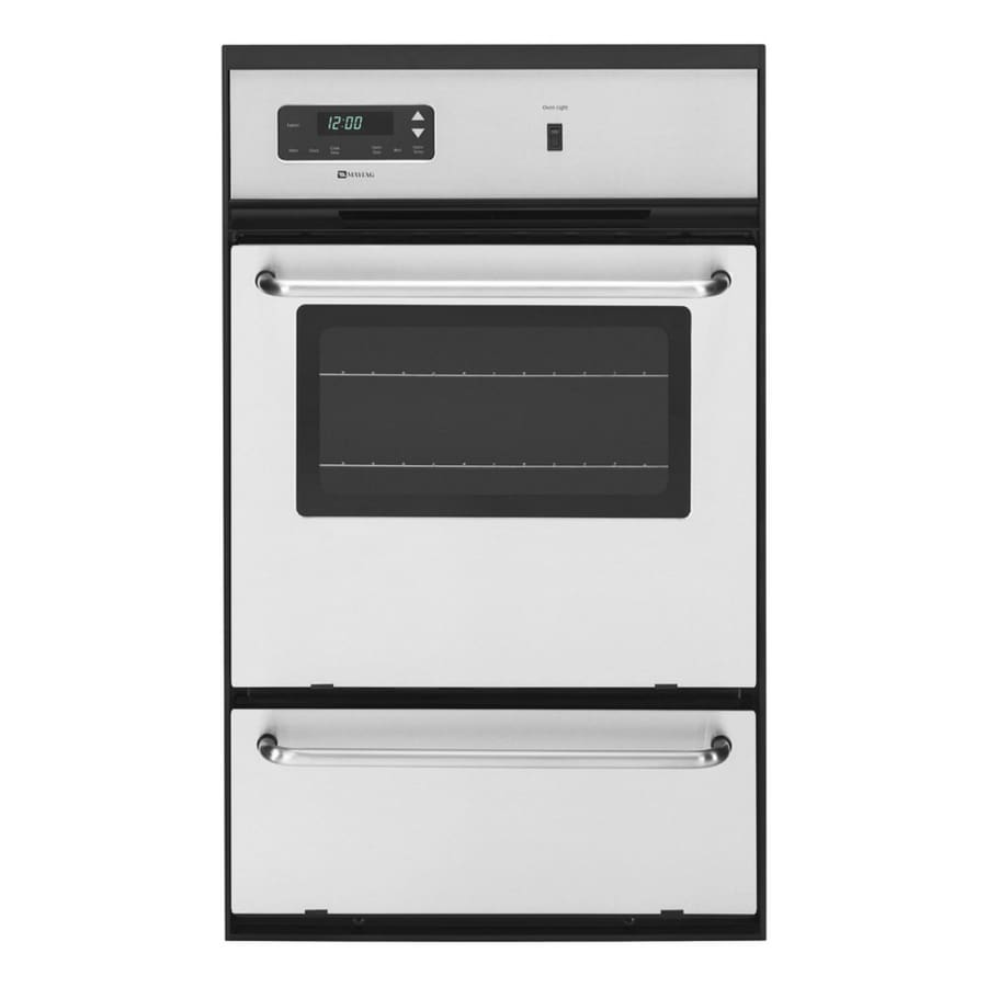 Maytag Single Gas Wall Oven (Stainless Steel)