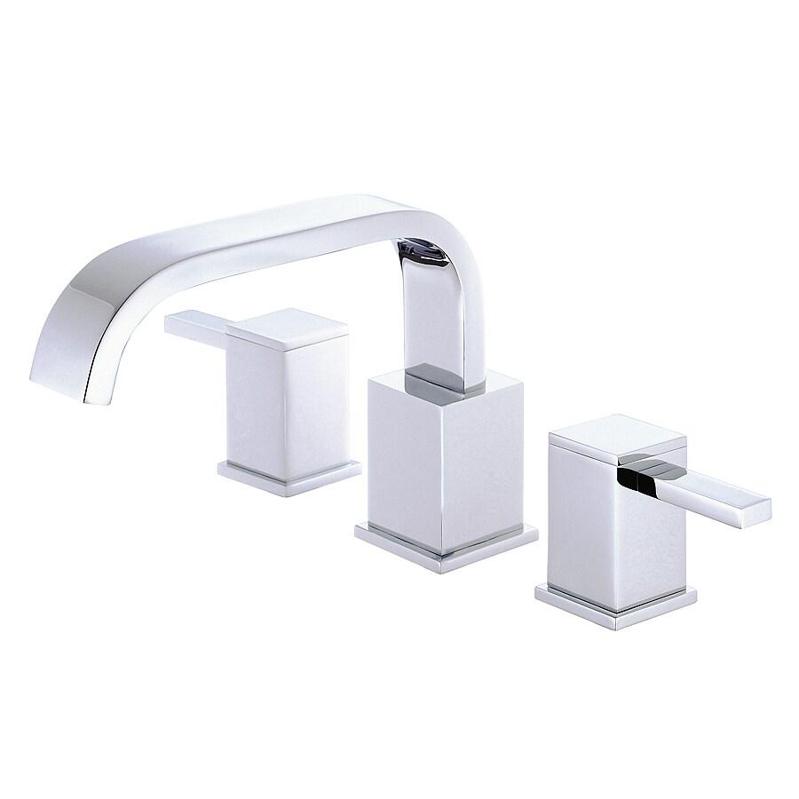 Danze Reef Chrome 2-Handle Adjustable Deck Mount Tub Faucet