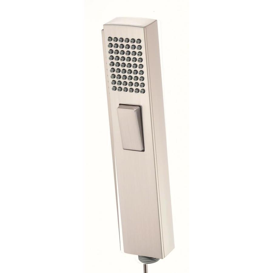 Danze Roman Tub Spray 3-in 2.5-GPM (9.5-LPM) Brushed Nickel 1-Spray Hand Shower