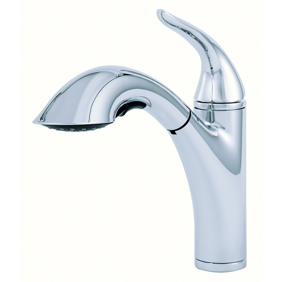 Danze Kitchen Faucet : Shop Danze Antioch Chrome 1-Handle Pull-Out Kitchen Faucet at Lowes ...