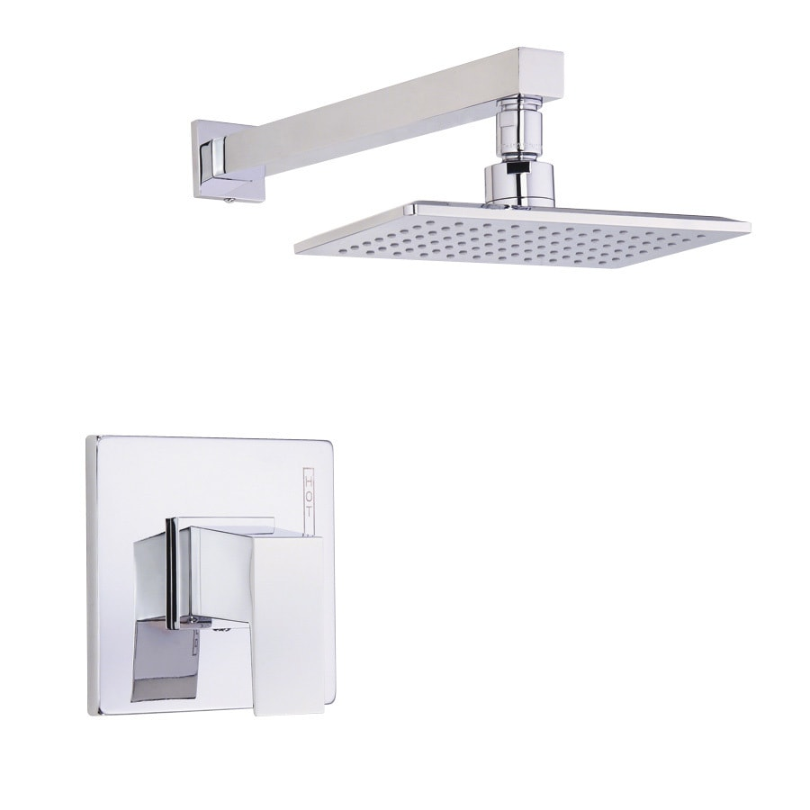 Danze Mid-Town Chrome 1-Handle Shower Faucet Trim Kit with Single Function Showerhead