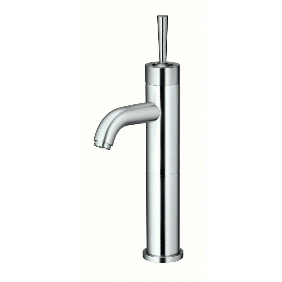 Shop danze parma brushed nickel 1 handle single hole - Single hole bathroom faucets brushed nickel ...