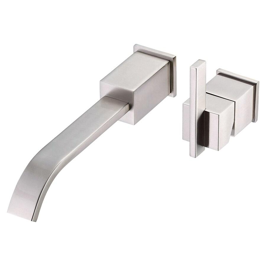 Danze Sirius Brushed Nickel 1-Handle 2-Hole Bathroom Faucet (Drain Included)