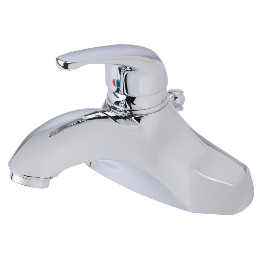Danze Melrose Chrome 1-Handle 4-in Centerset Bathroom Faucet (Drain Included)