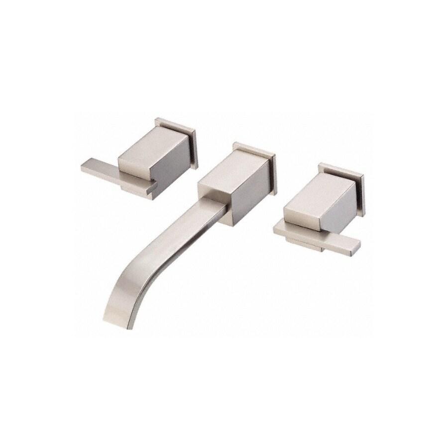 Danze Sirius Brushed Nickel 2-Handle Widespread WaterSense Bathroom Sink Faucet (Drain Included)