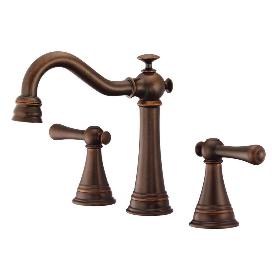 Shop Danze Cape Anne Tumbled Bronze 2 Handle 4 In Mini Widespread Watersense Bathroom Faucet At