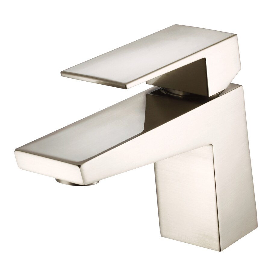 Danze Mid-Town Brushed Nickel 1-Handle Single Hole WaterSense Bathroom Faucet