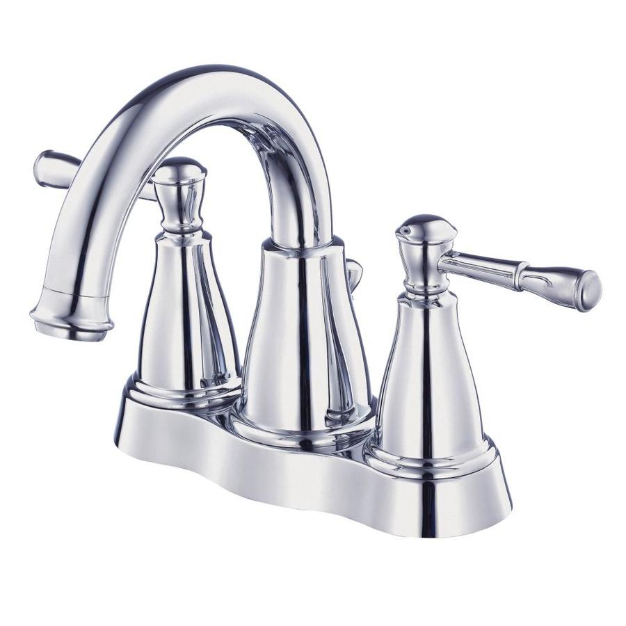 Danze Eastham Chrome 2-Handle 4-in Centerset WaterSense Bathroom Faucet (Drain Included)