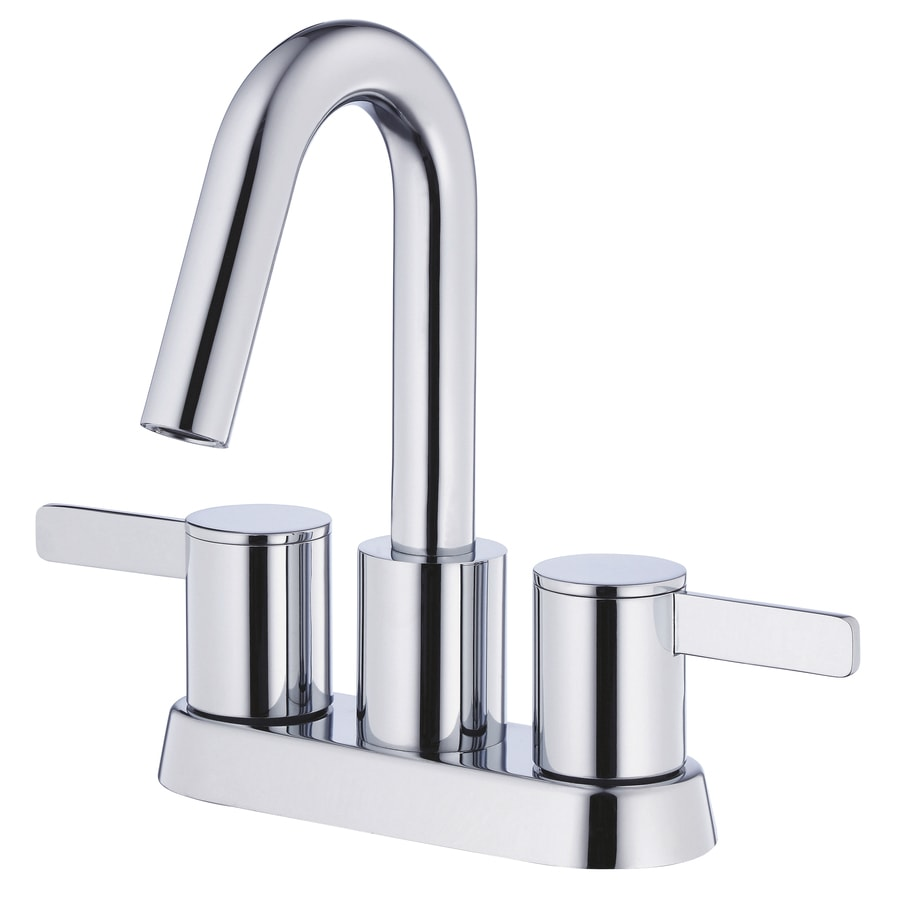 Danze Amalfi Chrome 2-Handle 4-in Centerset WaterSense Bathroom Faucet (Drain Included)