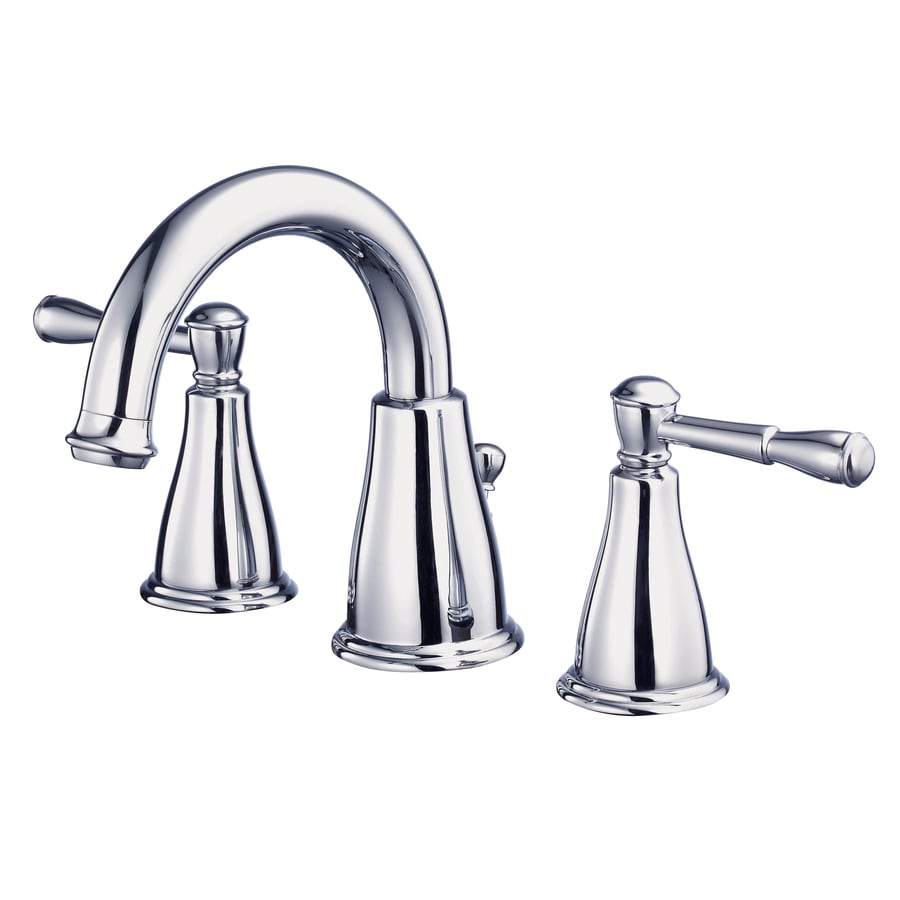 Danze Eastham Chrome 2-Handle Widespread WaterSense Bathroom Faucet (Drain Included)