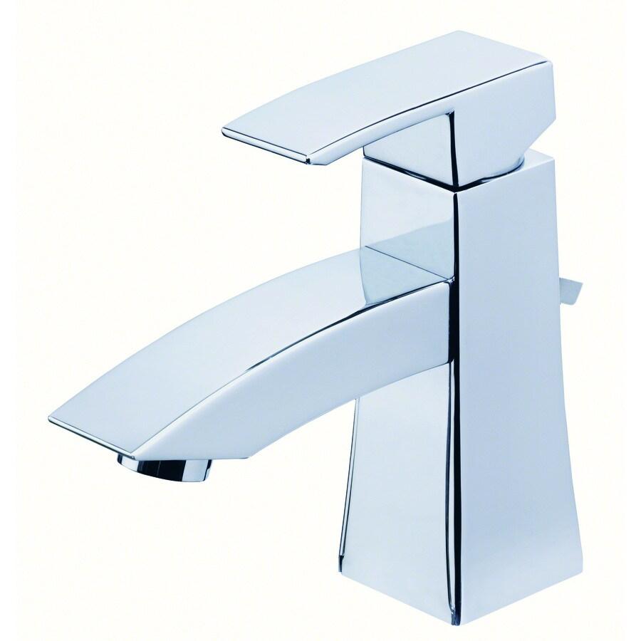 Shop Danze Logan Square Chrome 1 Handle Single Hole Watersense Bathroom Faucet At