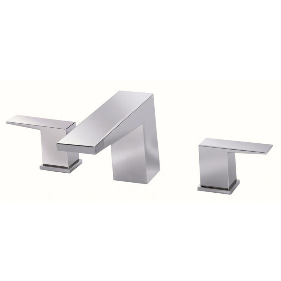 Mid-Town Chrome 2-Handle Fixed Deck Mount Bathtub Faucet Product Photo