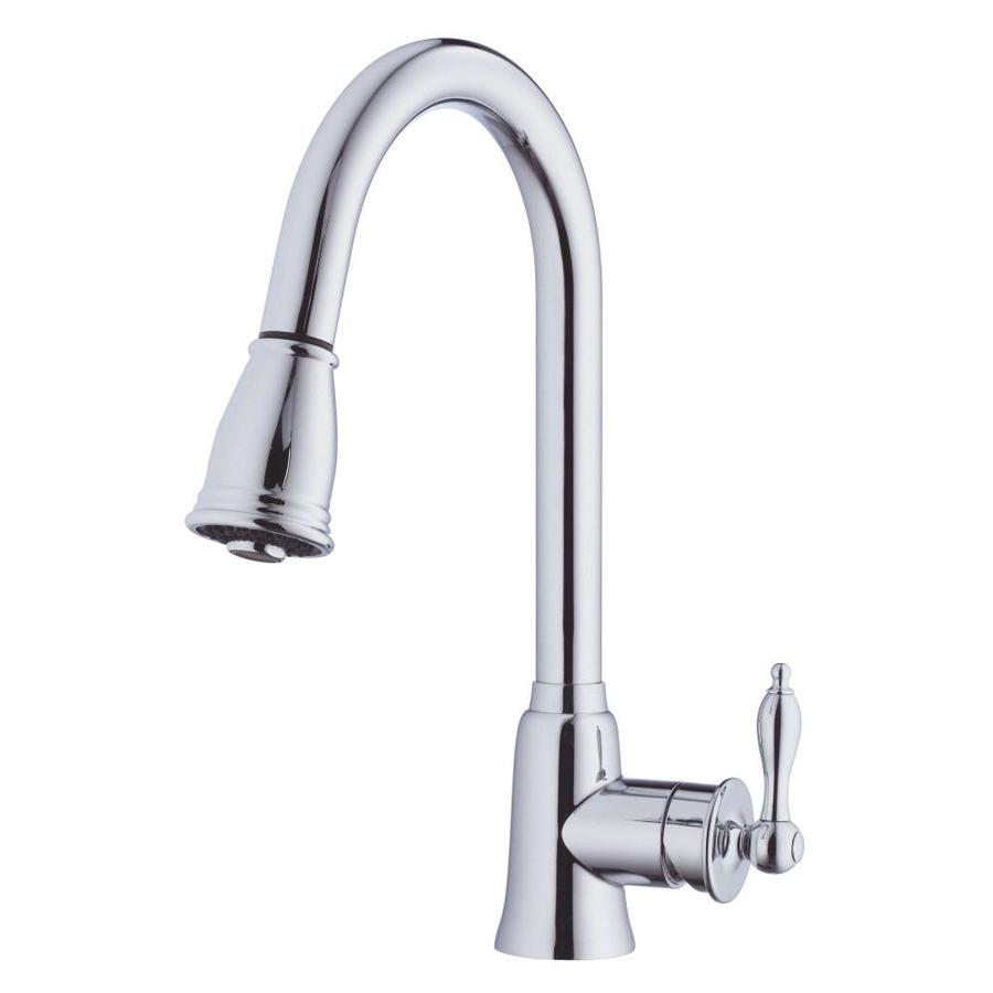 Danze Prince Chrome 1-Handle Pull-Down Kitchen Faucet