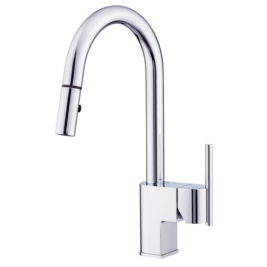 Danze Como Chrome 1-Handle Pull-Down Kitchen Faucet