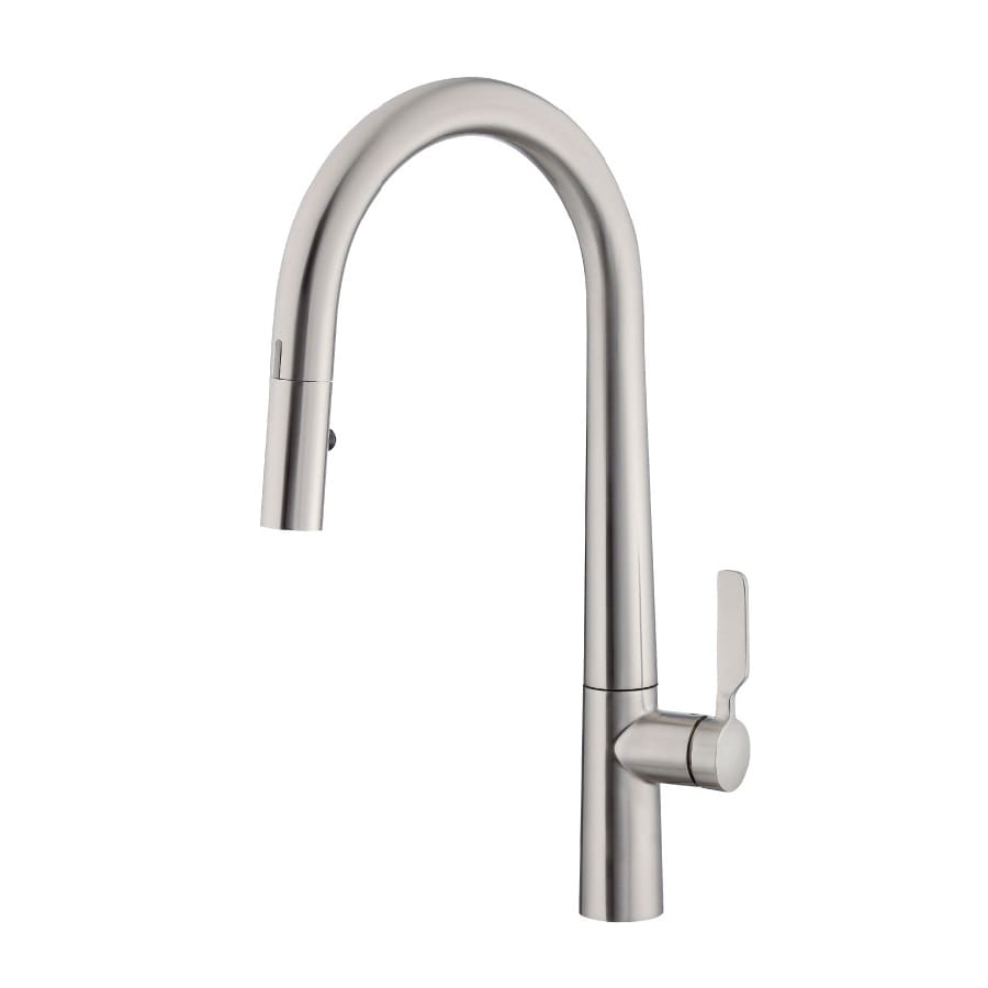 Danze Did-U-Wave Stainless Steel 1-Handle Pull-Down Sink/Counter Mount Touchless Kitchen Faucet