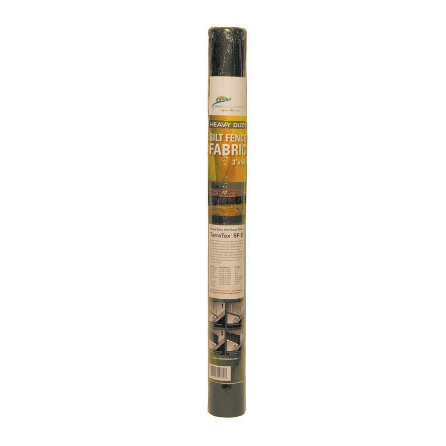 Hanes Geo Components 50-ft x 36-in Black DOT Silt Fence