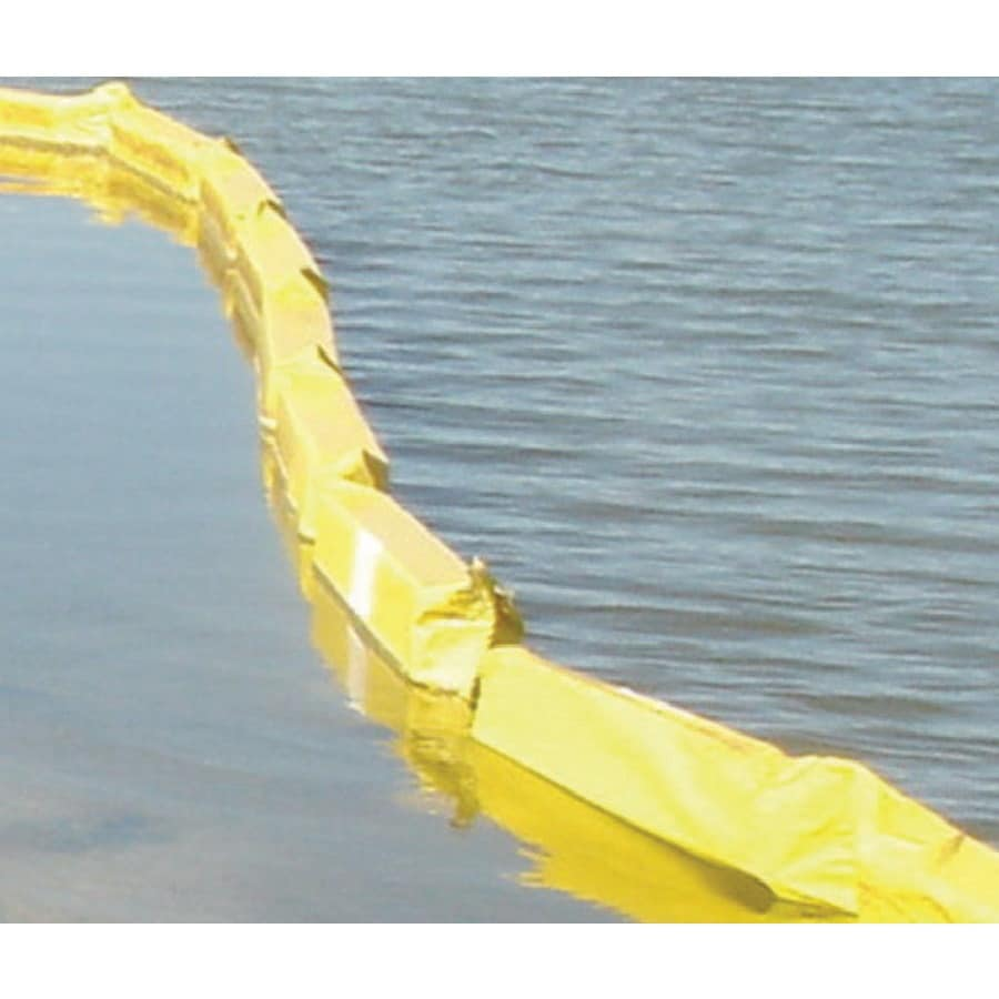 Hanes Geo Components Type 2 DOT 50-ft x 1-ft x 3-ft Yellow Turbidity Curtain