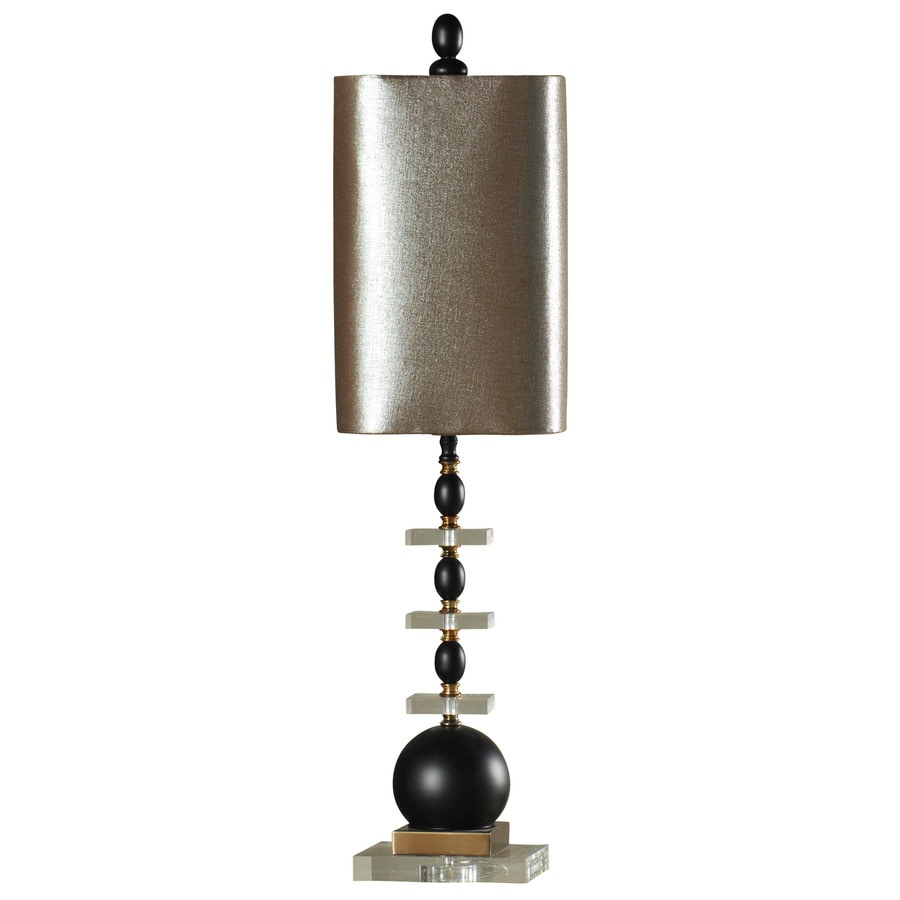 StyleCraft Home Collection 34-in 3-Way Switch Winnett Indoor Table Lamp with Fabric Shade