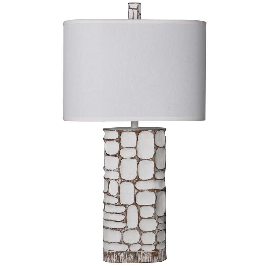 StyleCraft Home Collection 35-in 3-Way Switch McAllen Indoor Table Lamp with Fabric Shade