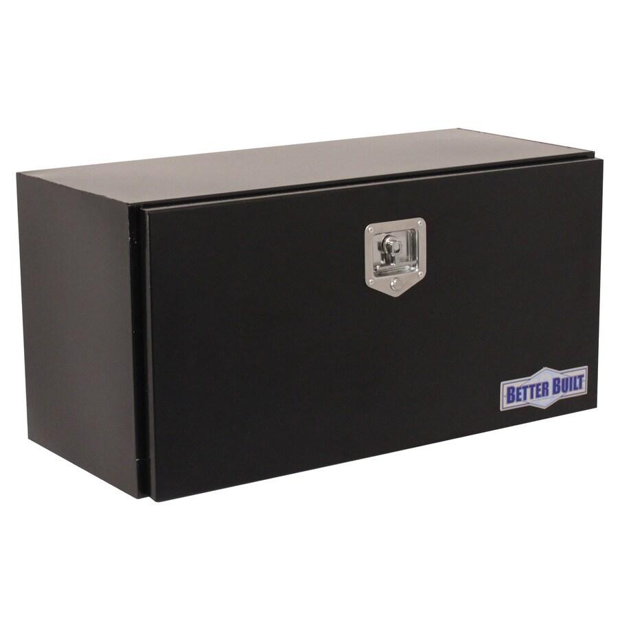 Better Built 36-in x 17-in x 18-in Black Powder Coat Steel Universal Truck Tool Box