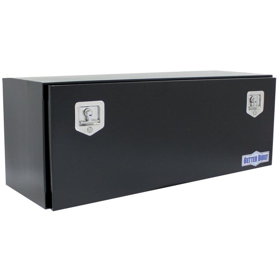 Better Built 48-in x 17-in x 18-in Black Powder Coat Steel Universal Truck Tool Box