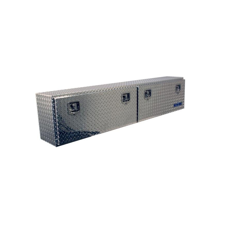 Better Built 72-in x 12-in x 16-in Aluminum Aluminum Universal Truck Tool Box