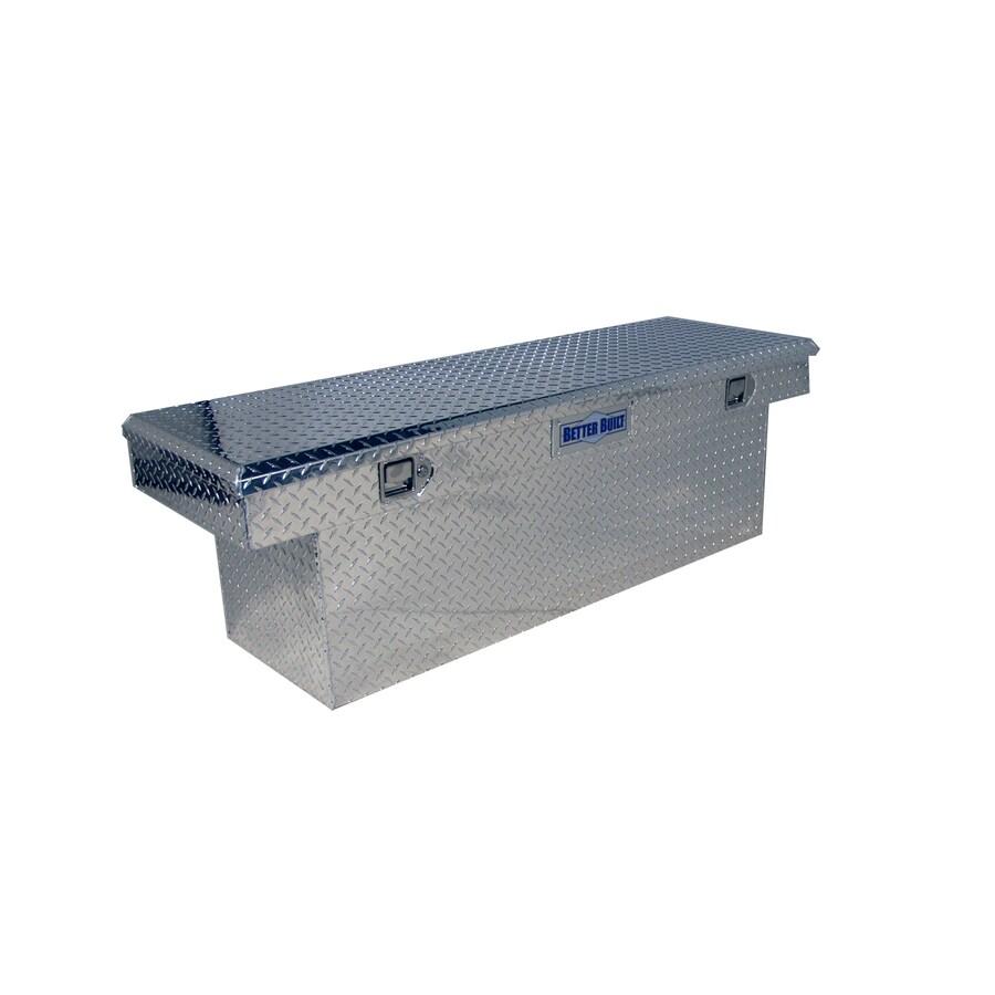 Better Built 61-1/2-in x 20-in x 19-in Aluminum Aluminum Mid-Size Truck Tool Box