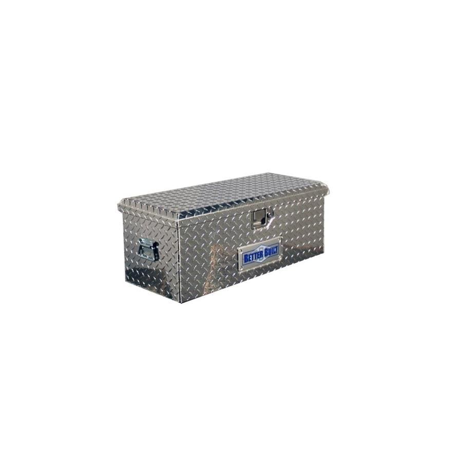 Better Built 20-in x 12-in x 9-1/2-in Aluminum Aluminum Universal Truck Tool Box