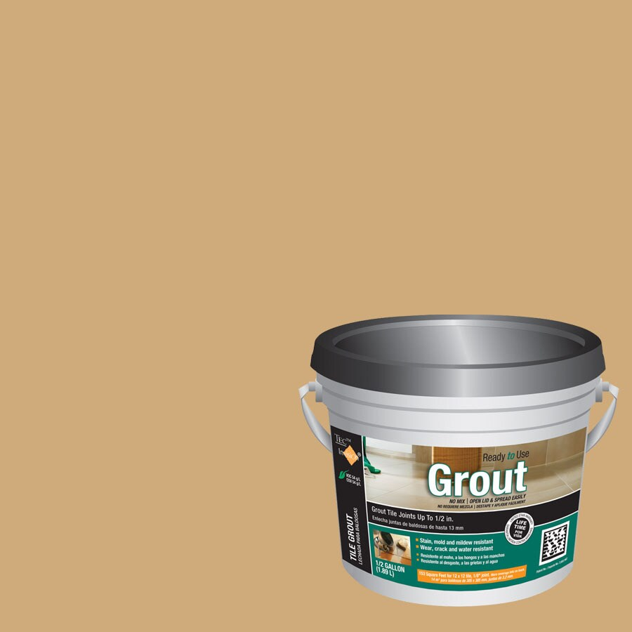 TEC Almond Sanded Premixed Grout