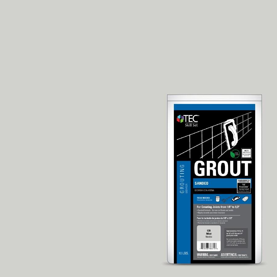 TEC Skill Set 10-lb Mist Sanded Powder Grout