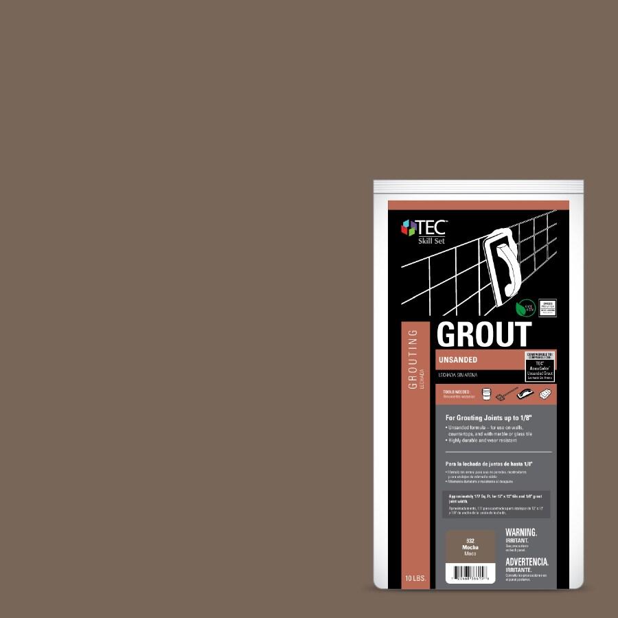 TEC Skill Set 10-lb Mocha Powder Grout