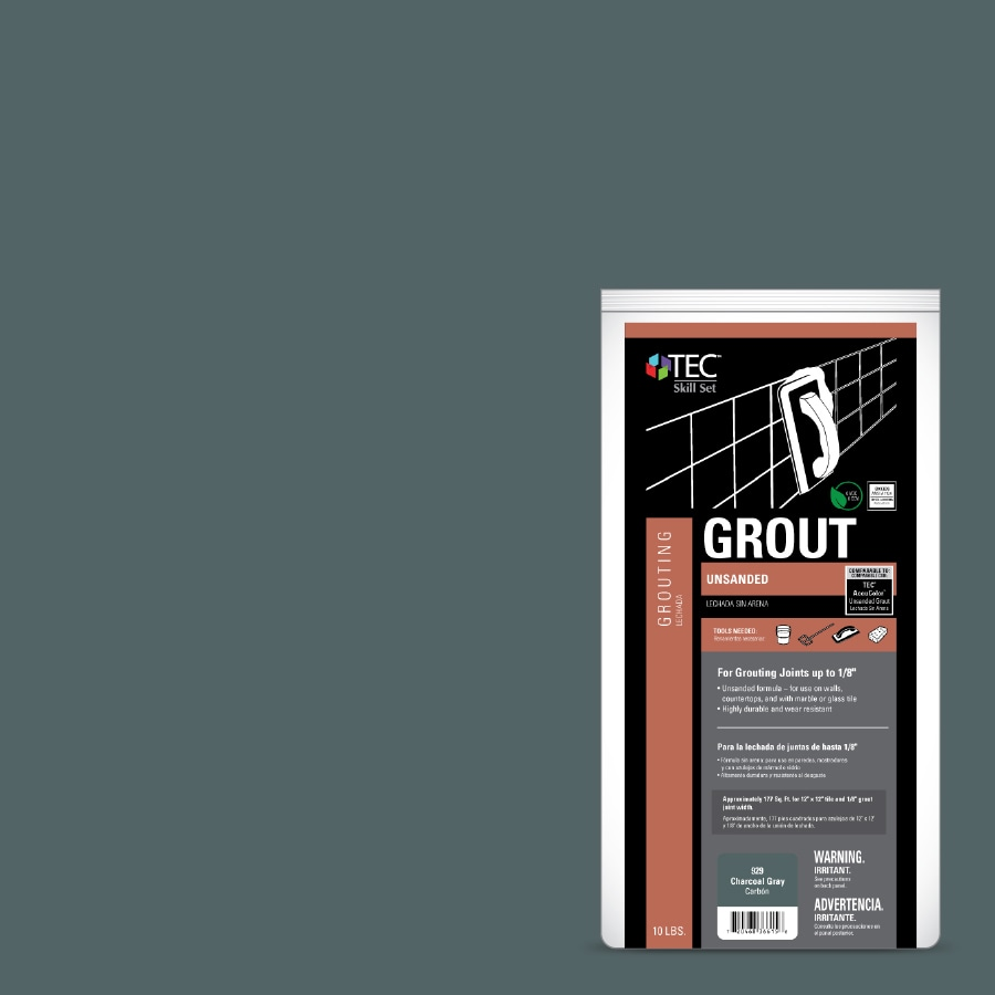 TEC Skill Set 10-lb Charcoal Gray Powder Grout