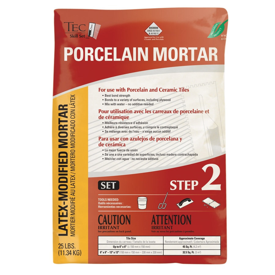 TEC Skill Set Gray Powder Polymer-Modified Thinset Mortar