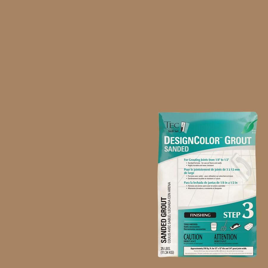 TEC 25-lb Light Buff Sanded Powder Grout