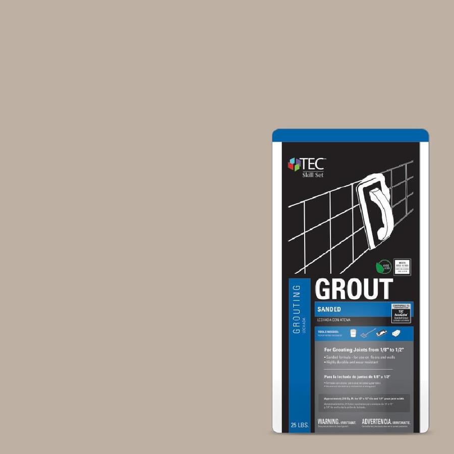 TEC Skill Set 25-lb Sandstone Beige Sanded Powder Grout