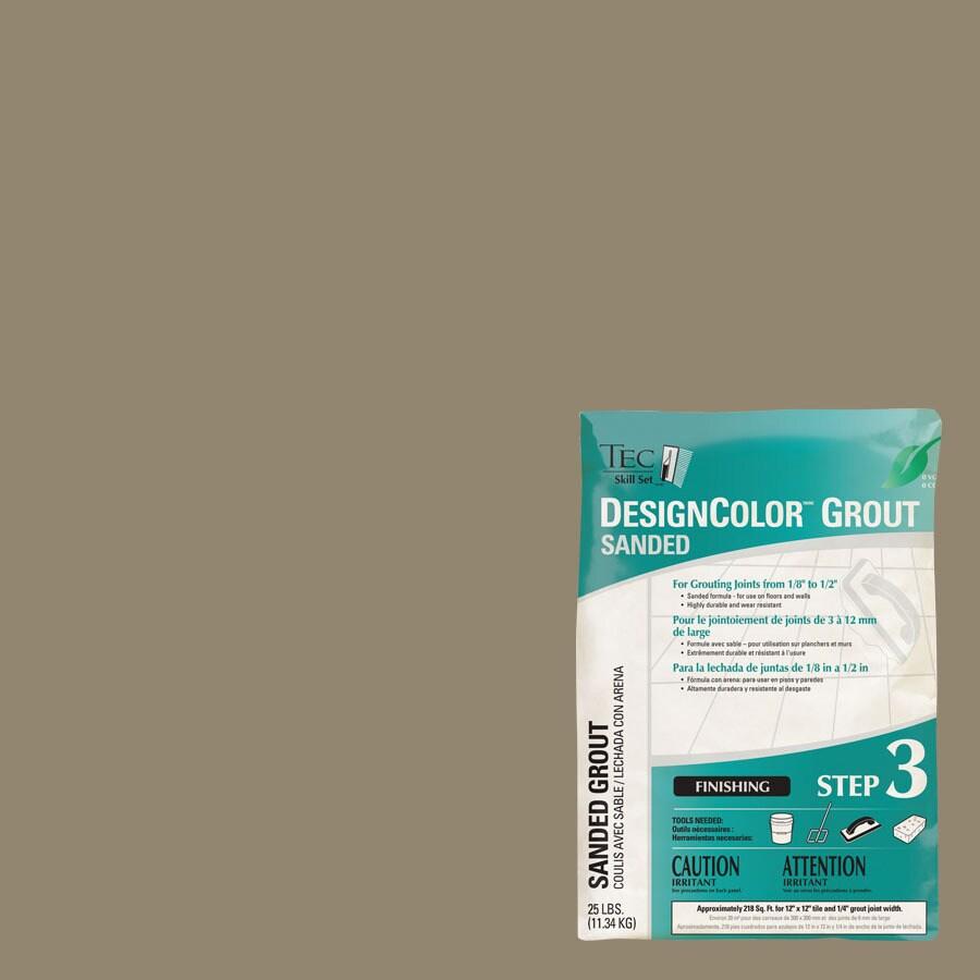 TEC Skill Set 25-lb Mocha Sanded Powder Grout