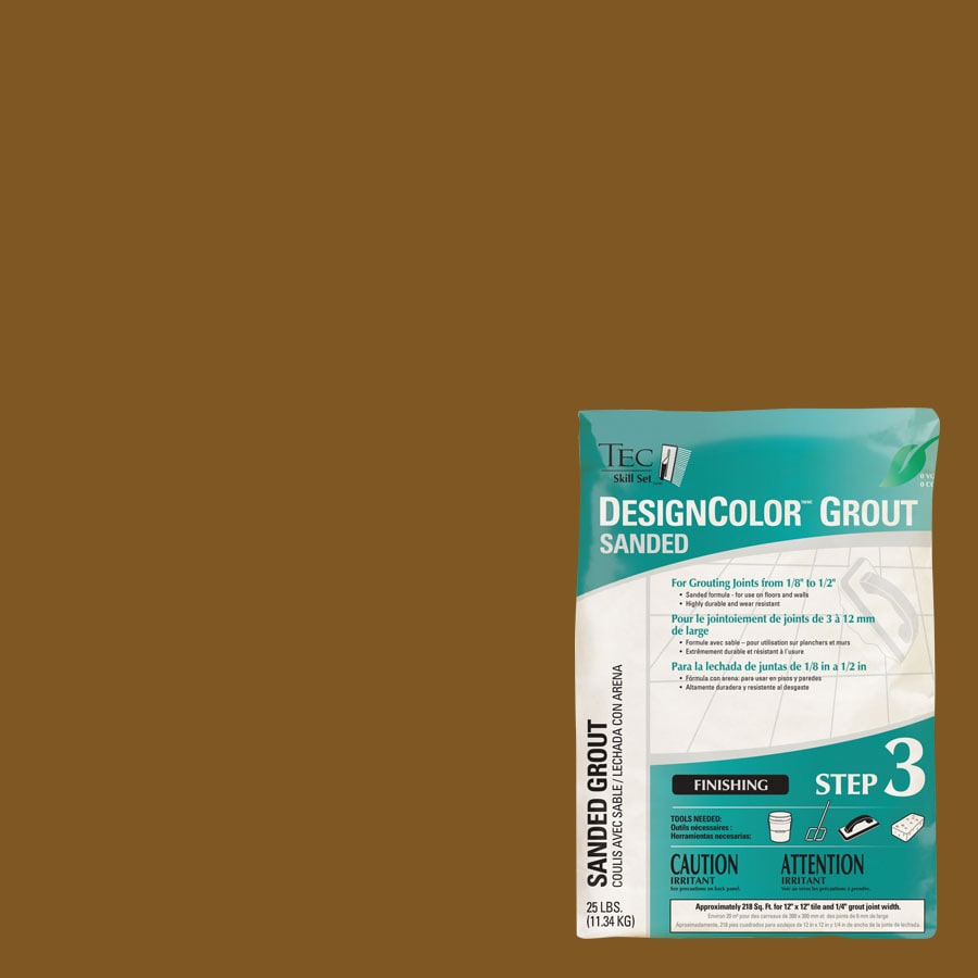 TEC Light Chocolate Sanded Powder Grout