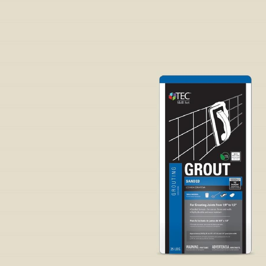 TEC 25-lb Ivory Sanded Powder Grout
