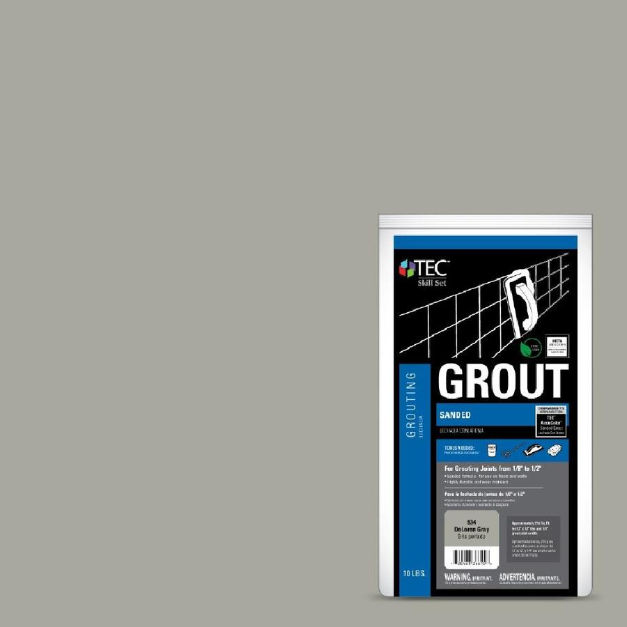 TEC Skill Set 10-lb Delorean Gray Sanded Powder Grout